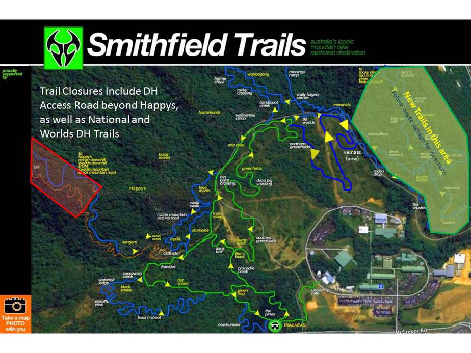 Tracks For Vehicles >> Smithfield Trail Status - Cairns Mountain Bike Club