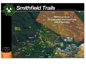 Smithfield Trail Closure - World Cup Preparations