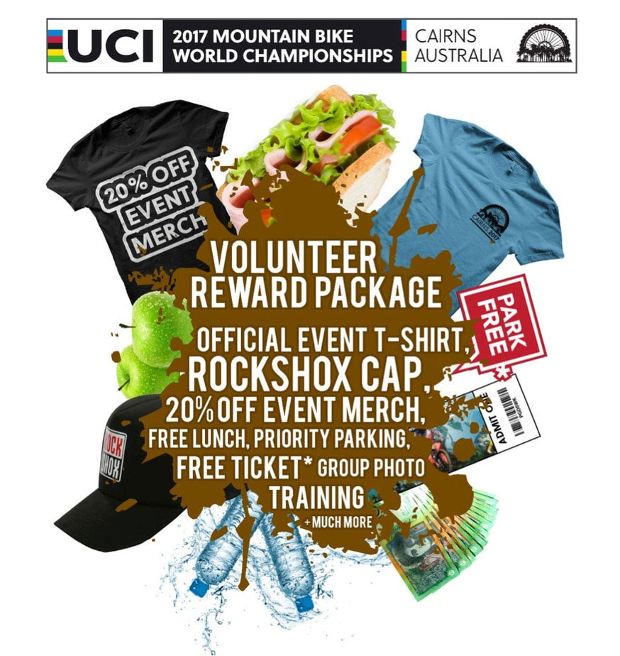 Volunteer applications now open for 2017 UCI MTB World Championships
